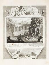 1728 Bibel Biblia Untergang der Galiläer Turm von Siloah Siloam Lukas 13, 3-4