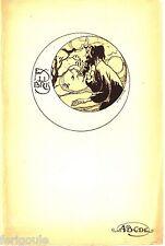 EX-LIBRIS de George P. de LAET pour ABCDE.
