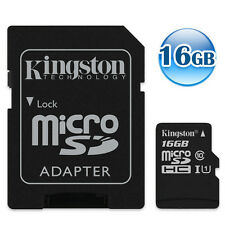 KINGSTON 80MB/s* CLASS 10 micro SDHC 16GB 16G micro SD Flash Memory Card UHS-I