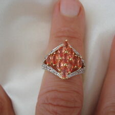 1.86ct Padparadscha Sapphire Gold Ring