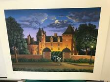"""Jim Buckels """" Midnight Blue Delage """"Signed & Numbered Limited Edition Serigraph"""