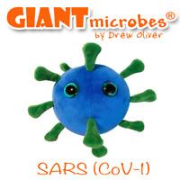Giant Microbes Original Pandemic SARS Virus (CoV-1) GiantMicrobes
