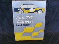 FIAT 131 ABARTH GR4 1980 BOX SIGILLATO OLIO FIAT CAR MODELS ITAL DESIGN KIT PONS