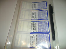 Electrical Test tags ***Free Postage Aust wide*** Durable Self Laminating