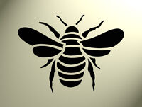 Shabby Chic Stencil Bumble bee Rustic Mylar Vintage A4 297x210mm furniture wall