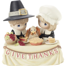 Precious Moments 201034 Grateful to Give Thanks With You Limited Edition Figurin