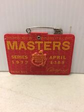 1972 Masters Augusta National Badge Ticket Jack Nicklaus Golf Course