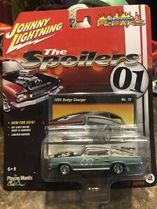 2016 Johnny Lightning The Spoilers 1966 Dodge Charger Street Freaks 1/64 New!!!