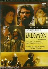 LA BIBLIA LA HITORIA DE SALOMON NEW DVD