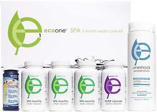 Ecoone   Hot Tub Chemical Maintenance  Supply Kit   Spa Shock, Conditioner  Pu