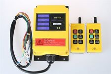 F21-4S Double Emitters Industry Wireless crane Remote Control DC12V for Elevator