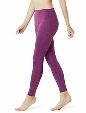 Tesla Yoga Pant High Waist Tummy Control, Fuschia- Small