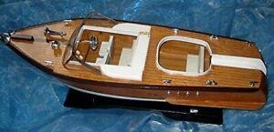 Italian Motorboot- Sport Boat - Display Model