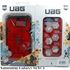 Urban Armor Gear UAG Red Magma Clear Hybrid Case for Samsung Galaxy NOTE 5