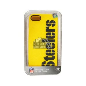 Pittsburgh Steelers Iphone 5 Gold Soft Case
