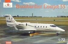 Bombardier Learjet 55 , 1:72, Amodel ,Goodjet,UN, NEUHEIT