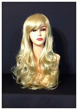 Hot Stylish Long Curly Wigs, Party, Cosplay, Fancy Dress, Blonde Colour Wigs