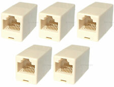 5 x Cat 5e Network Patch Ethernet RJ45 Coupler Joiner
