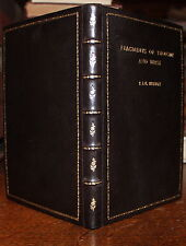1980 Fragments of Thought and Verse Ron J Brewer Signed Letter Fine Binding