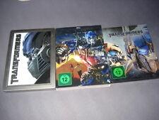 Transformers Trilogie Steelbook geprägt Dark of the Moon Blu Ray Steelbook 1 2 3