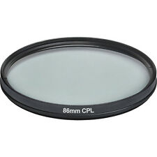 Circular Polarizer For Nikon D800 Multithreaded Glass Filter C-PL Multicoated 86mm