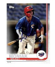 Mickey Moniak signed auto autograph 2019 Topps Pro Debut 5x7 card 1/49 Phillies