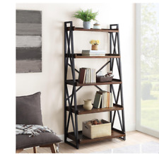 Ladder bookcase with 5 shelves