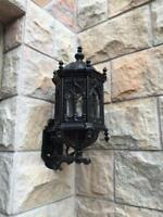 HEAVY CAST IRON VICTORIAN STYLE GOTHIC WALL SCONCES JXM001
