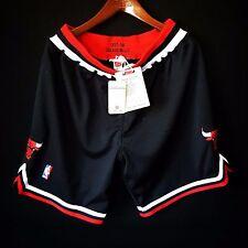 100% Authentic Mitchell & Ness Bulls Black NBA Shorts Size L 44 - jordan pippen