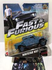 Fast & Furious #6 Movie International Truck Navistar MXT Vehicle Mattel 2016