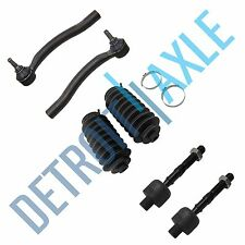 New Inner & Outer Tie Rod Ends & Boots for Acura TSX & Honda Accord 2.4L ONLY