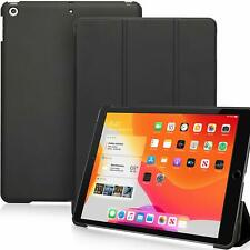 Black Case For iPad 10.2 Dual Ultra Slim Lightweight Magnetic Smart Cover Stand