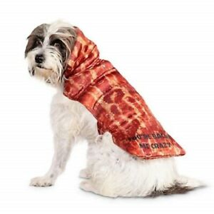 """NEW!!! FOR YOUR DOG """"YOU'RE BACON ME CRAZY"""" COSTUME FROM BOOTIQUE SIZE: X-SMALL"""