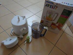 Philips Avent 2in1 Dampfgarer und Mixer, Breizubereiter, Babynahrungszubereiter