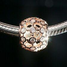 Pandora Rose Gold nella luce spot fascino (genuino, ALE R)