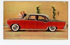 """DODGE Flashes Ahead"" 1955 Royal Lancer Advertising—Newark NJ Grossman Dealer"