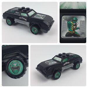 2014 General Mills Mega Bloks Black Car Power Rangers Megaforce Green Ranger