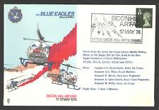 COVER Aviation THE BLUE EAGLES HELICOPTER TEAM - Biggin Hill Air Fair 1974