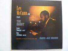 LES McCANN Ltd - The Shout - Pacific Jazz LP T90055 - Mono - VG+