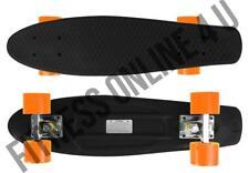 "22"" Abec7 Skateboard Retro Complete Deck Cruiser Skater Skating Plastic Board Fierce"