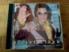 RARE ELVIS PRESLEY 2-CD SET - DESERT STORM - FORT BAXTER