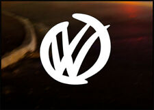 VW SMOOTH Car Decal Sticker VW GT TDi GTi VR6 Golf Polo MK1 MK2 MK3 MK4 MK5 MK6