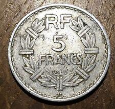 PIECE DE 5 CENTIMES LAVRILLIER 1947 B (106)