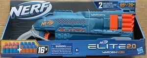 Nerf Elite 2.0 Warden DB-8 Blaster. Includes 16 Nerf Darts BRAND NEW