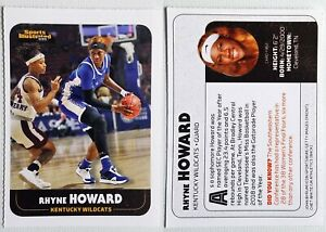 RHYNE HOWARD 2021 rare oddball rookie card UK WILDCATS basketball SI for Kids