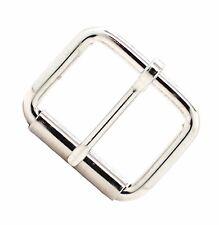 "Nickel Single Prong Roller Buckle 1-1/2"" 1418-02"
