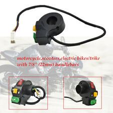 "7/8"" 12V Headlight Turn Signal headlamp Horn Motorcycle Handlebar Switch"