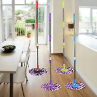 Replacement 360 Rotating Spin Mop Pole Handle   Floor Mop Head  for Home Clean