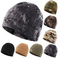 Tactical Hunting Beanie Hat Army Military Commando Combat Polar Fleece Watch Cap