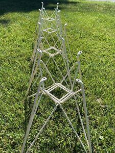 Vintage Eames Herman Miller 1960's Eiffel Tower Base for Shell Fiberglass Chair1